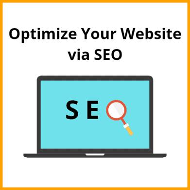 Optimize Your Website via SEO