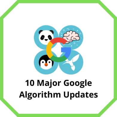 Major Google Algorithm Updates
