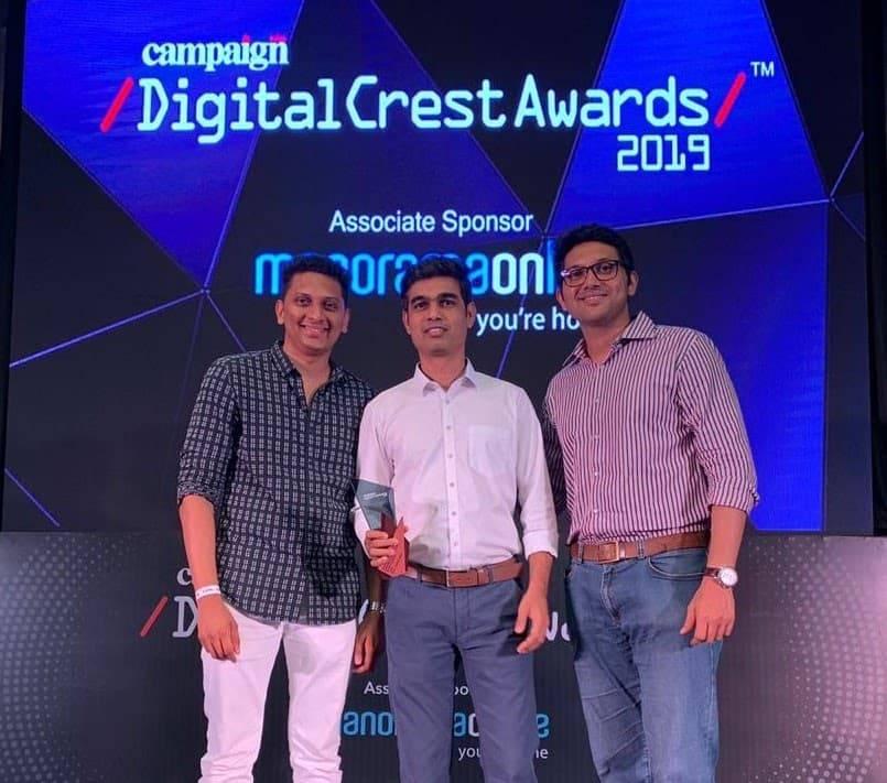 Digital Crest Awards 2019