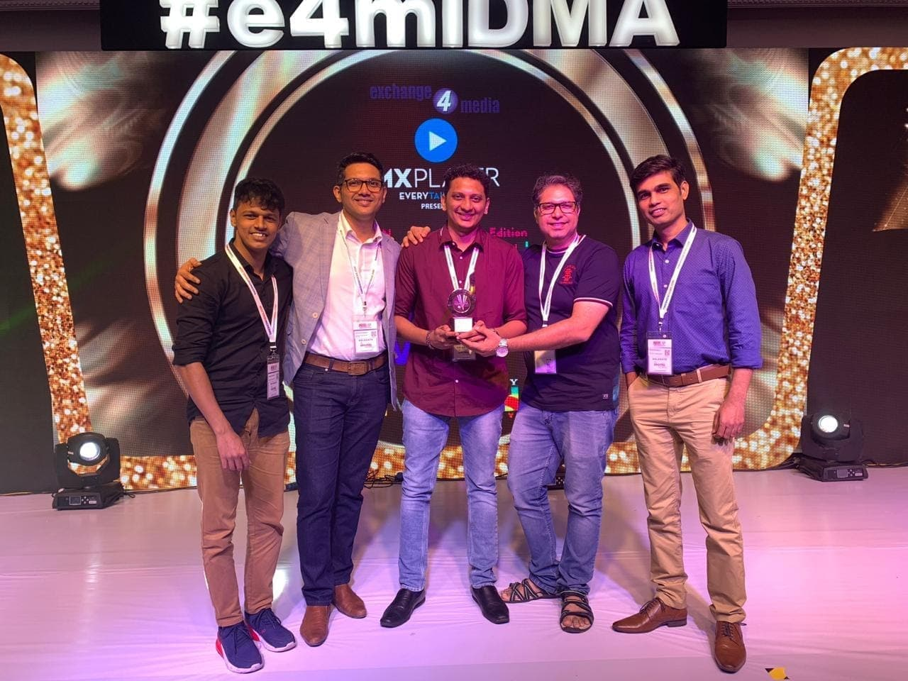 Infidigit wins Gold in IDMA 2019
