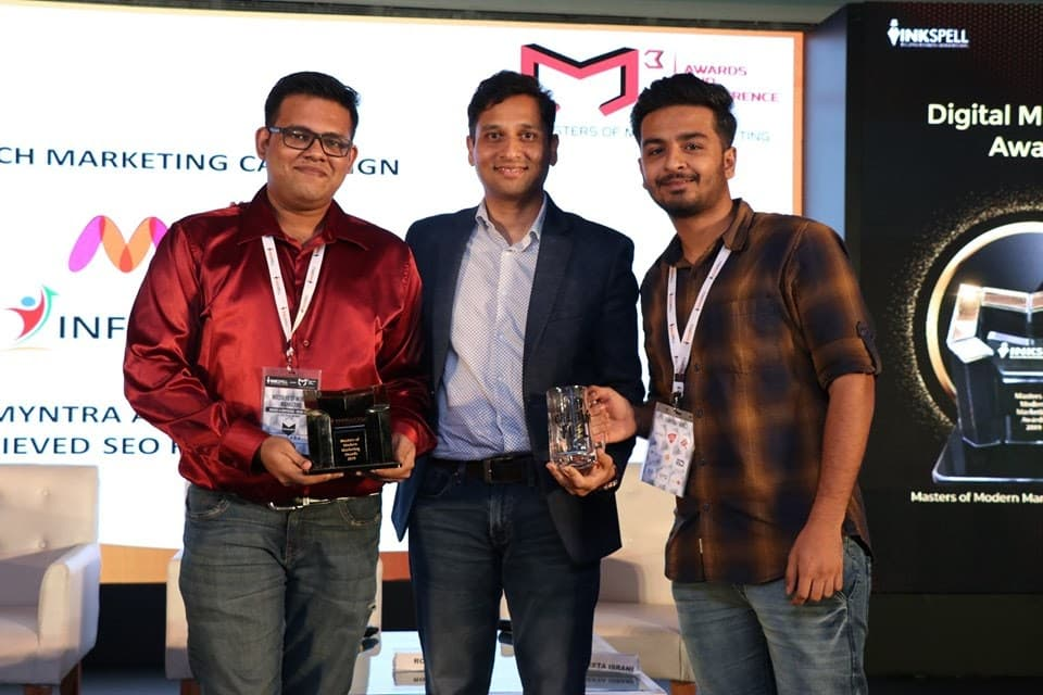 INFIDIGIT win's Gold in mCube Award