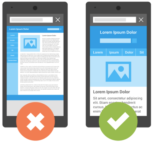 Optimize your website by creating Responsive  website.