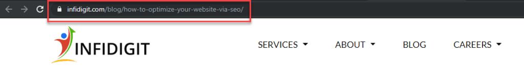 Optimize Your Website by using Descriptive URLs