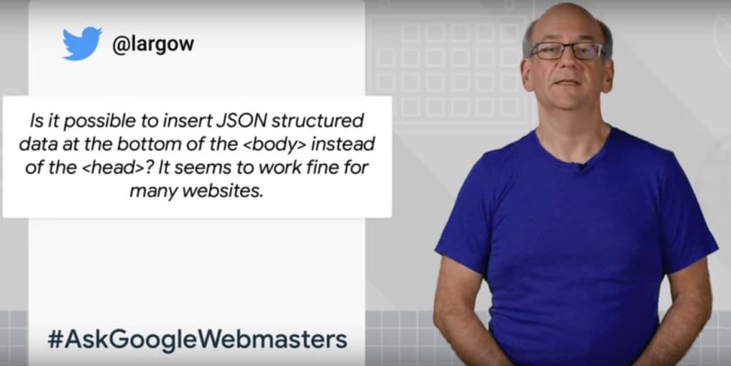 Insert JSON-LD Structured Data