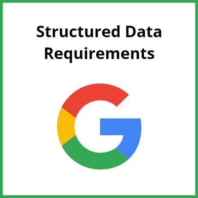 Structured Data Requirements
