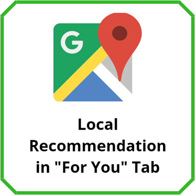 Local Recommendation in For You tab