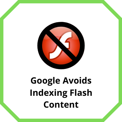 Google Avoids Indexing Flash Content
