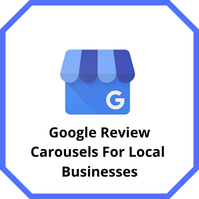Google Review Carousel For Local Businesses