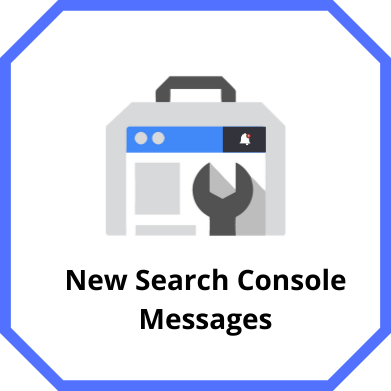New Search Console Messages