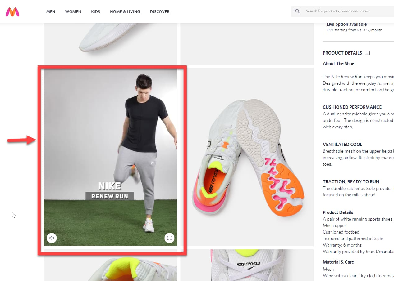 Product videos strategy are used by ecommerce websites