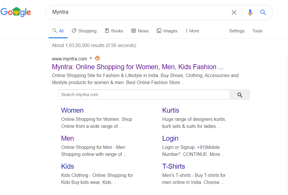 Google takes on Sitelink Search Box Appearance