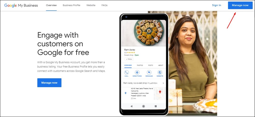 Google My Business Overview