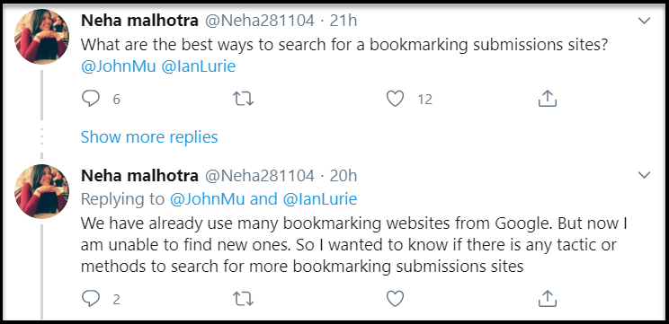 Neha Malhotra's Question