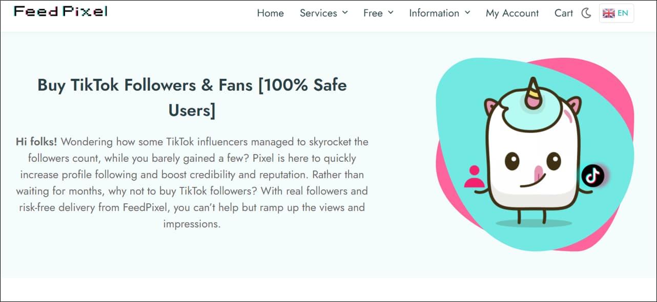 FeedPixel TikTok Growth Services