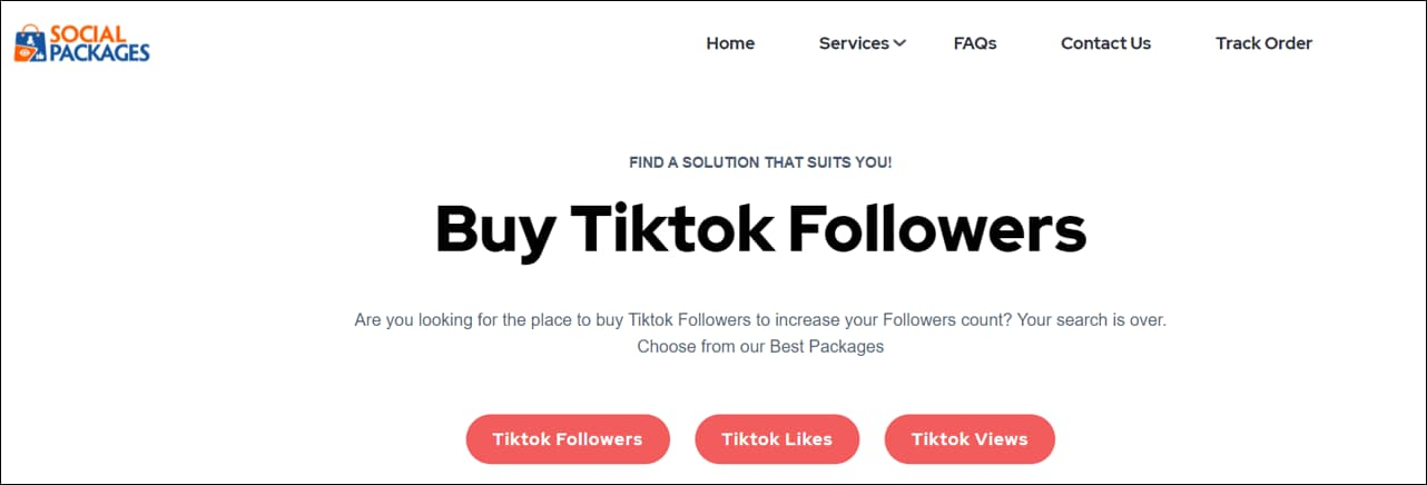 Social Packages TikTok Growth Services