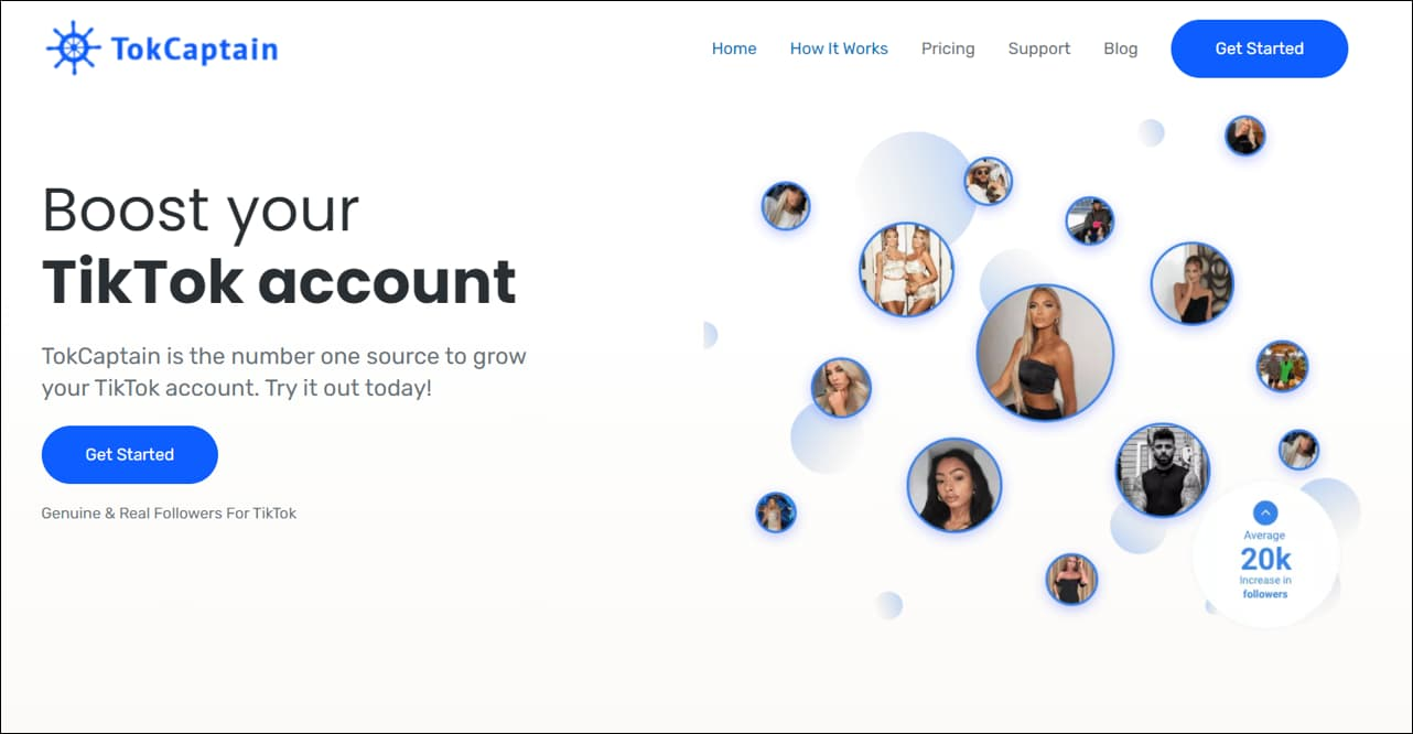 TokCaptain TikTok Growth Services