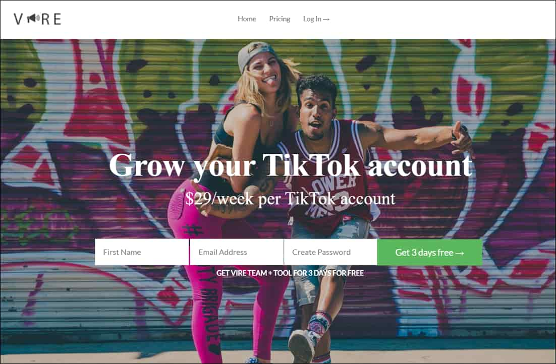 Vire TikTok Growth Services